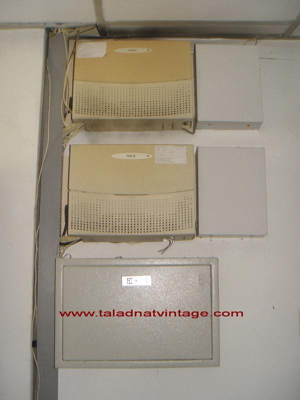 ตู้สาขาโทรศัพท์ NEC พร้อมเครื่องโทรศัพท์ลูกข่าย 37 เครื่อง