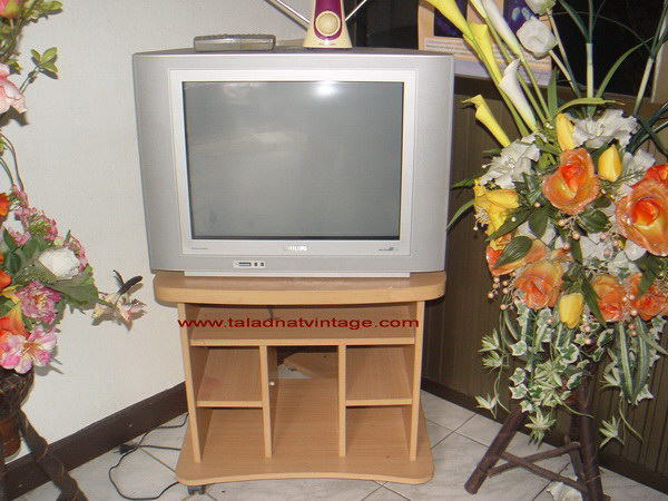 TV Philips 21 นิ้ว 21PT3952 67R รุ่นหลอดภาพ ใช้งานได้ปกติ