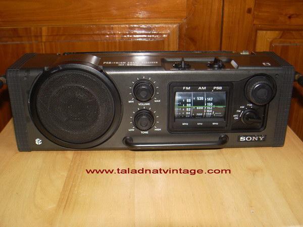 SONY ICF-6000W PSB/FM/AM 3 Band
