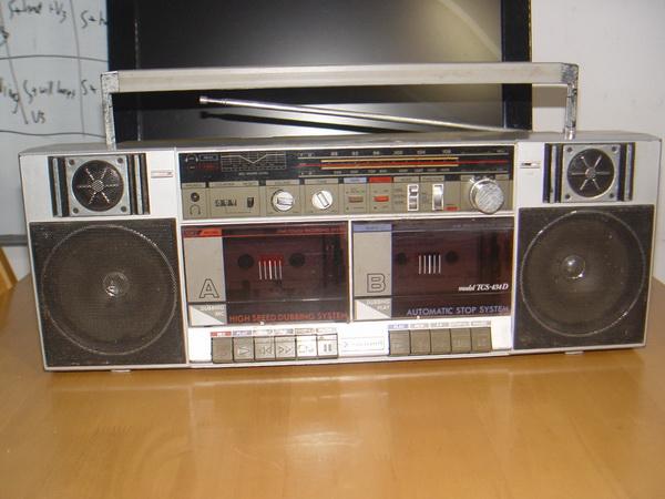 Vintage วิทยุเทป ธานินทร์ TCS-434D TANINเทปคู่ Stereo ของแท้หายาก