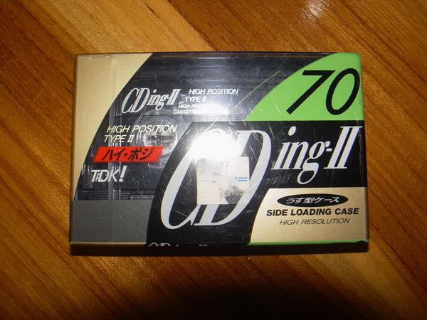 ม้วนเทปแม่เหล็ก TDK TYPE II 70 ของใหม่ในกล่องซีลไม่เคยใช้งาน