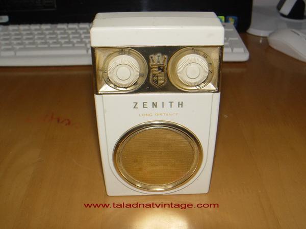 วิทยุ ZENITH ROYAL-500 DELUXE ระบบ AM ใช้งานได้ดีมาก