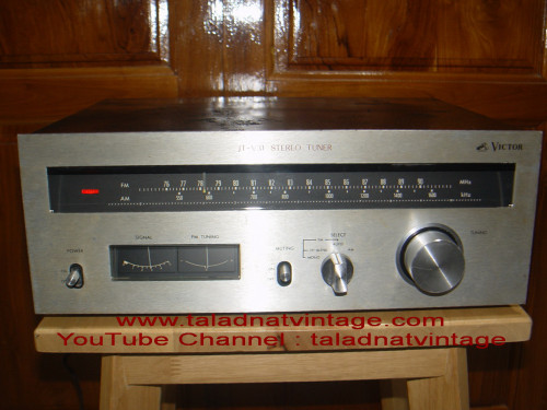 VICTOR(JVC) JT-V31 Stereo Tuner แบบมือหมุนวินเทจ
