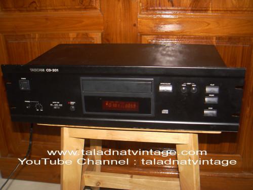 TASCAM CD-201 เครื่องเล่น CD รุ่นใช้งานห้องบันทึกเสียง