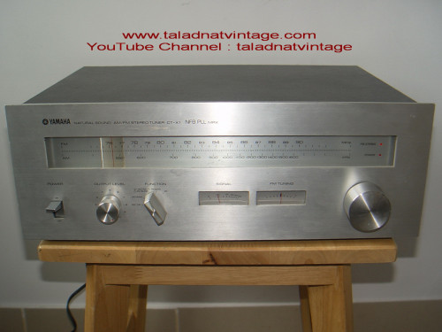 YAMAHA CT-X1 Natural sound  FM AM Stereo Tuner MPX