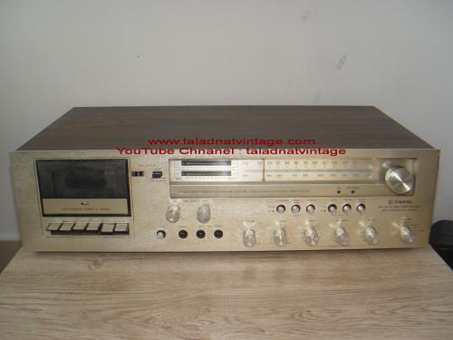 TANIN TCR-3350 ธานินทร์ รุ่น 200ปี Stereo Receiver ของคนไทยแท้
