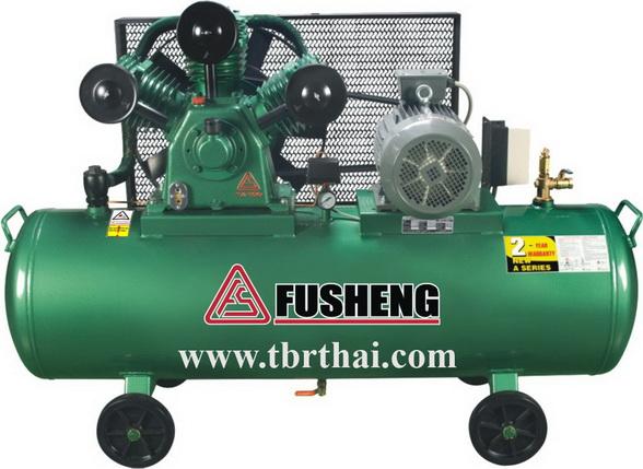 ปั๊มลมFUSHENG 5 แรงม้า รุ่นTA-80 / 245 ลิตร Air Compressor FUSHENG 5 HP Model TA80/245M