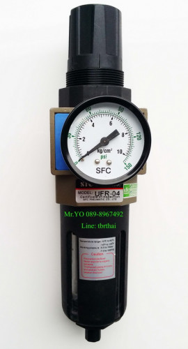 ชุดกรองลมปรับแรงดัน Filter Regulator  FR รุ่น UFR-04_Copy