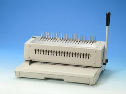 เครื่องเจาะกระดาษไฟฟ้าและเข้าเล่มแบบมือโยก รุ่น TCC-210EPB
