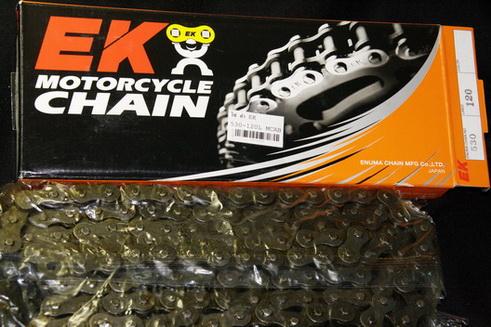 โซ่ 530 120ข้อ Standard ดำ EKญี่ปุ่น  EK Roller chain