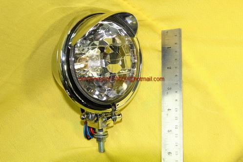 ไฟหน้า ชอปเปอร์ มีแก๊ป 3.5นิ้ว Chopper Head light set
