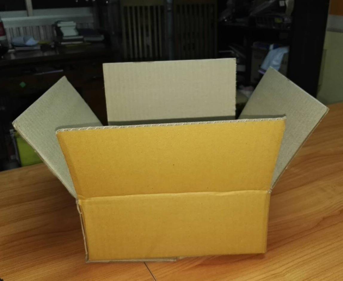 กล่องกระดาษ 3 ชั้น Size A303
