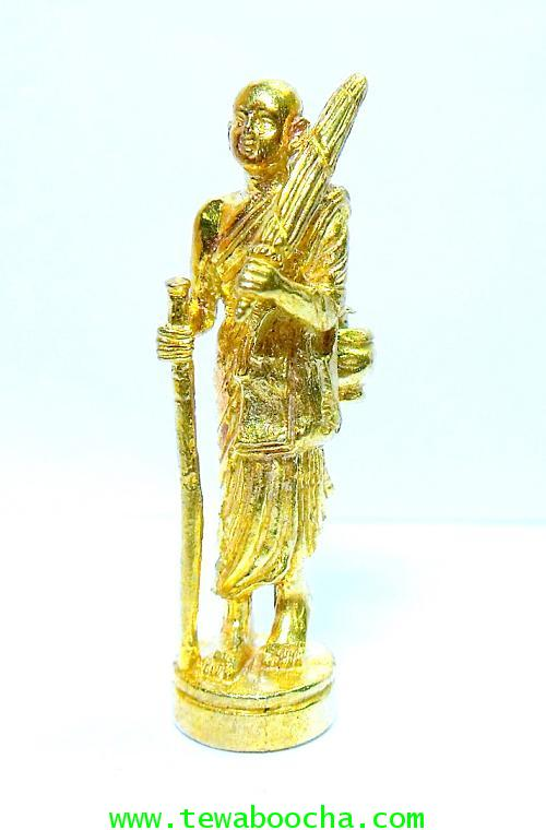 พระสิวลีเทพเจ้าแห่งมหาลาภ ให้โชคเงินทอง:เนื้อทองเหลืองเคลือบทอง ขนาดฐาน 1.5ซม. x สูง4 ซม.