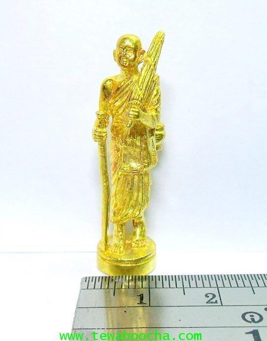 พระสิวลีเทพเจ้าแห่งมหาลาภ ให้โชคเงินทอง:เนื้อทองเหลืองเคลือบทอง ขนาดฐาน 1.5ซม. x สูง4 ซม. 4
