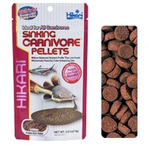 Sinking Carnivorous Pellets 74 g