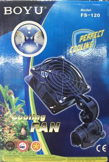 BOYU Cooling fan