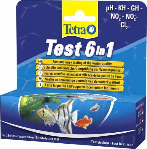 Tetratest 6 in 1