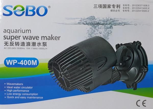 Sobo Super Wave Maker WP-400M เครื่องทำคลื่นสำหรับตู้ปลาทะเล เหมาะกับตู้ปลาขนาด 24-36 นิ้ว