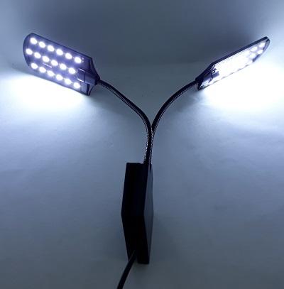 LED Clip Lamp โคมไฟ LED หนีบข้างตู้ แบบ 2 ทิศทาง 1