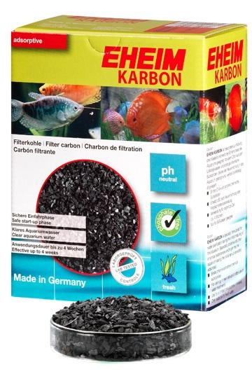 Eheim Karbon ถ่านคาร์บอน กรองแบคทีเรีย สารเคมี โลหะหนัก วัสดุกรองใช้กับตู้กรองนอก