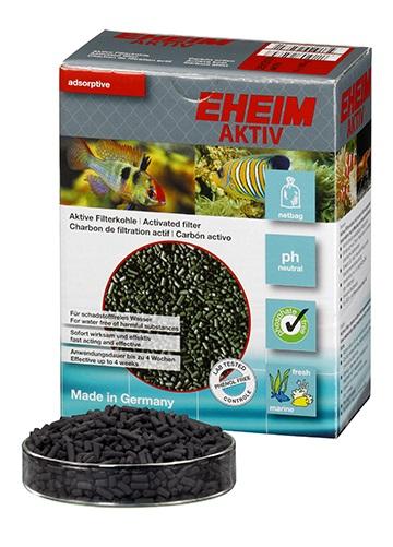 Eheim Aktiv ถ่านคาร์บอนกัมมันต์ กรองแบคทีเรีย สารเคมี โลหะหนัก วัสดุกรองใช้กับตู้กรองนอก