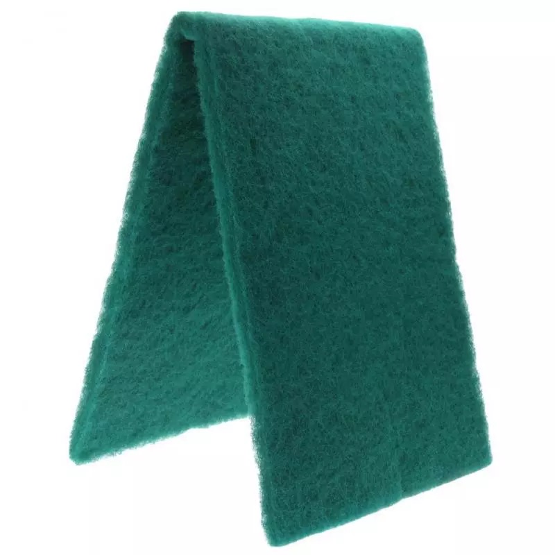 ใยกรองละเอียด สีเขียว สามารถซักล้างได้ ขนาด 30X100 cm