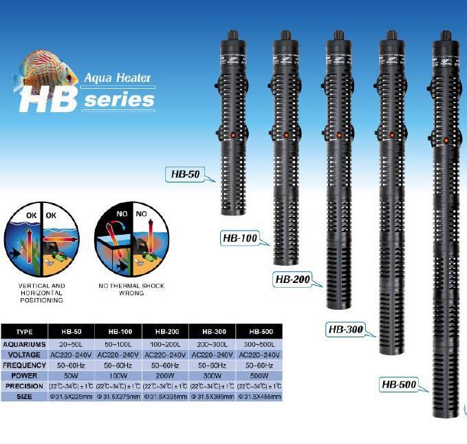 เครื่องควบคุมอุณหภูมิน้ำ Periha Aqua Heater HB-200
