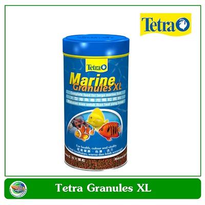 Tetra Marine Granules อาหารชนิดเม็ดจมน้ำเหมาะสำหรับปลาทะเล ขนาดกลาง-ใหญ่ 500ml.