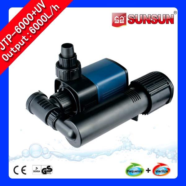 SUNSUN ปั๊มน้ำพร้อมยูวีฆ่าเชื้อโรค JTP 6000 + UV