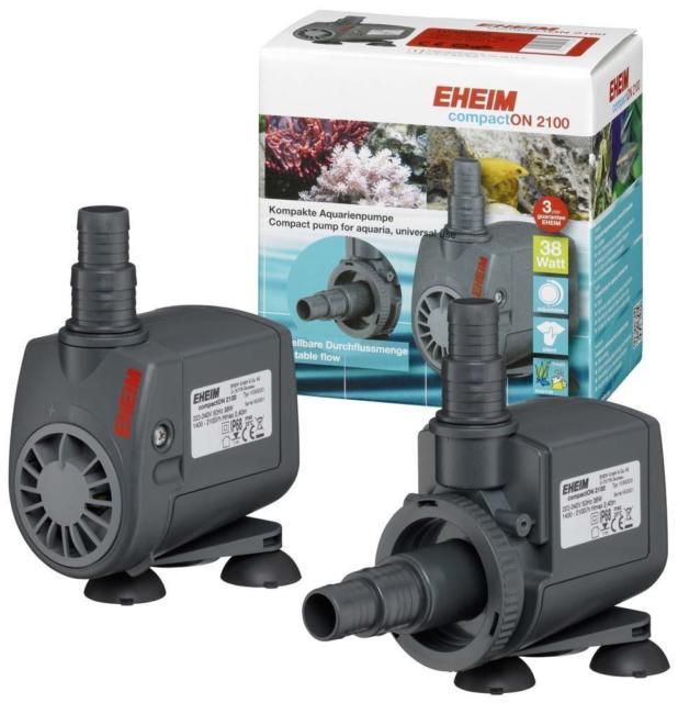 ปั้มน้ำ Eheim Compact ON 2100 แรงดี เสียงเงียบ ปรับความแรงได้ ผลิตจากประเทศเยอรมัน รับประกัน 3