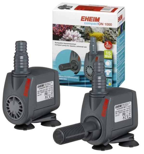 ปั้มน้ำ Eheim Compact ON 1000 แรงดี เสียงเงียบ ปรับความแรงได้ ผลิตจากประเทศเยอรมัน รับประกัน 3