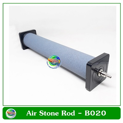 Air Stone หัวทรายละเอียดทรงกระบอก B020 ยาว 19.5 ซม.
