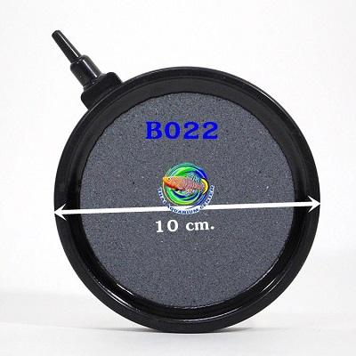 หัวทรายจานมีขอบ B022 ขนาดเส้นผ่านศูนย์กลาง 10 ซม. 1