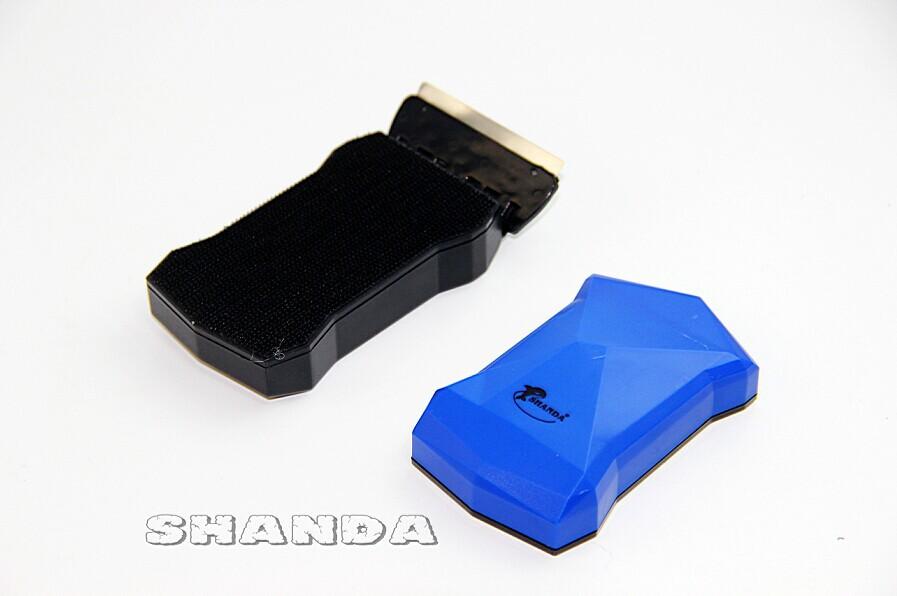 Shanda แปรงแม่เหล็กขัดตู้ปลาสวยงาม ขนาดใหญ่มาก รุ่น Iron Man IM-001 สีน้ำเงิน เหมาะกับกระจกหนา 8-15 1