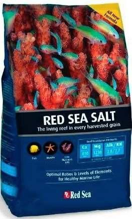 RED SEA SALT เกลือทะเล สำหรับตู้ปลาทะเลทุกชนิด ปะการัง, สัตว์ไม่มีกระดูกสันหลัง (2 kg)
