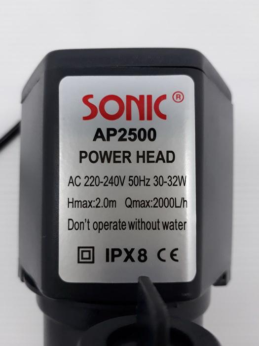 ปั้มน้ำ Sonic AP 2500 3