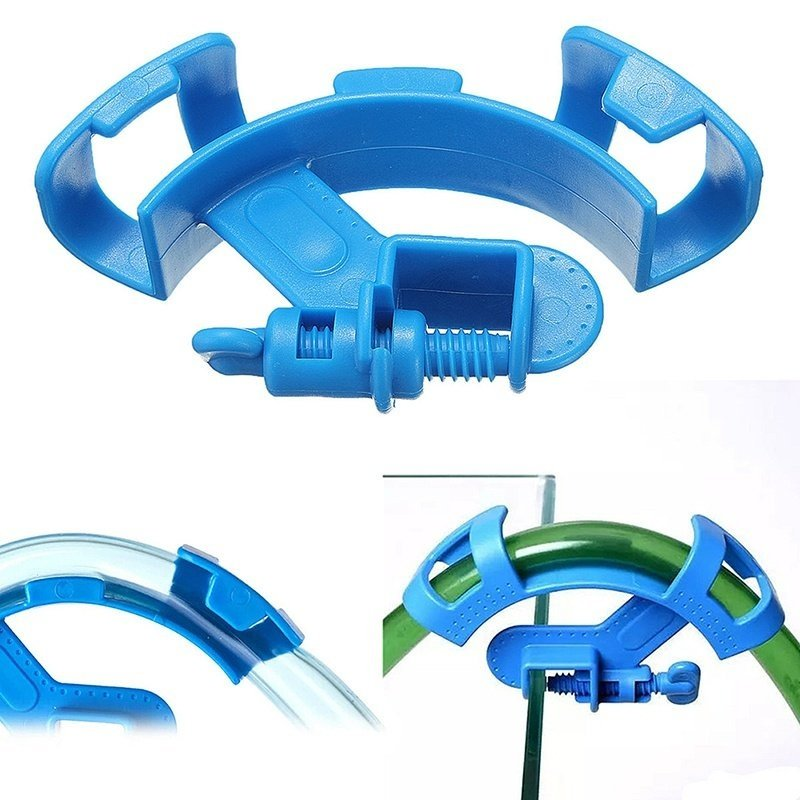 Aquarium filtration water hose holder ตัวล็อคสายยางเปลี่ยนน้ำตู้ปลา 1