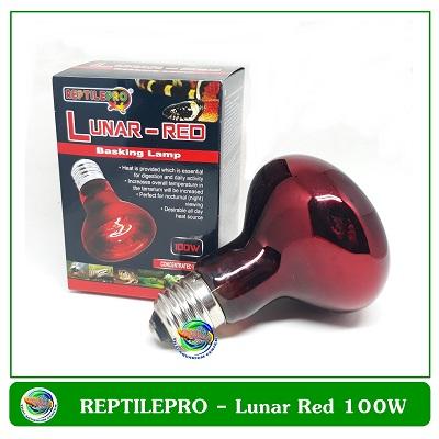 REPTILEPRO Lunar-Red Basking Lamp 100W