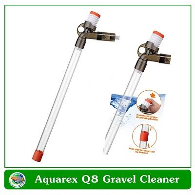 Aquarex Q8 Gravel Cleaner เครื่องดูดเปลี่ยนถ่ายน้ำ ทำความสะอาดตู้ปลา