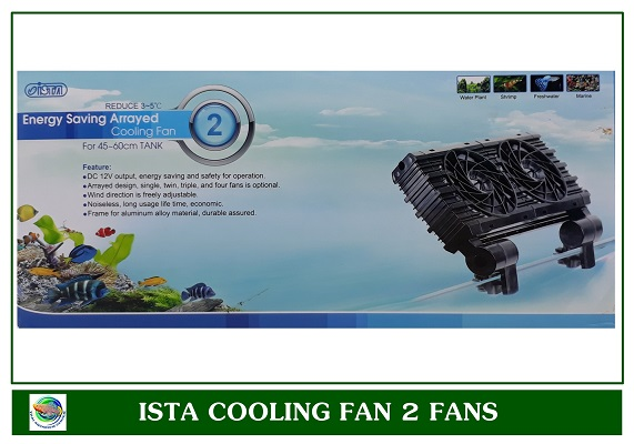 Ista Cooling Fan 2 ใบพัด