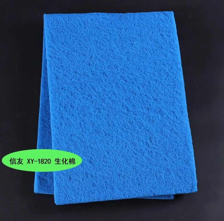 ใยกรองละเอียด สีน้ำเงิน สามารถซักล้างได้ ขนาด 30X100 cm