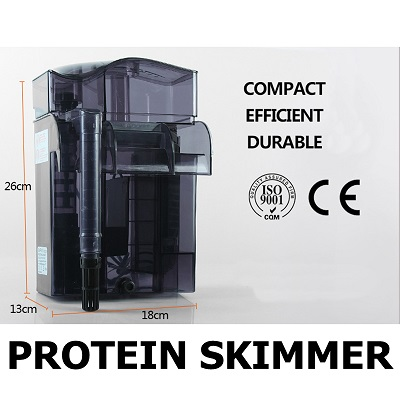 Dophin PS-2012 Protein Skimmer สกิมเมอร์แบบแขวนข้างตู้ พร้อมระบบกรองในตัว 1
