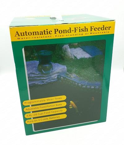 Automatic Fish Feeder เครื่องให้อาหารปลาอัตโนมัติขนาด 3.8 ลิตร 7
