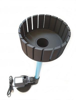 ชุดพร้อมใช้ สกิมเมอร์ สะดือบ่อเทียม ขนาด 5 นิ้ว ท่อ 6 หุน และปั๊มน้ำ Sonic AP-2500 อุปกรณ์ครบชุด 1