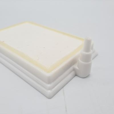 หัวทรายสีขาว ขนาด 7.5 x 11.5 ซม. ทรงสี่เหลี่ยมผืนผ้า Air Stone Plate 2