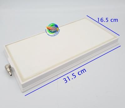 หัวทรายสีขาว ขนาด 16.5 x 31.5 ซม. ทรงสี่เหลี่ยมผืนผ้า Air Stone Plate 1