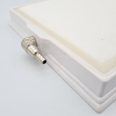 หัวทรายสีขาว ขนาด 16.5 x 31.5 ซม. ทรงสี่เหลี่ยมผืนผ้า Air Stone Plate 3