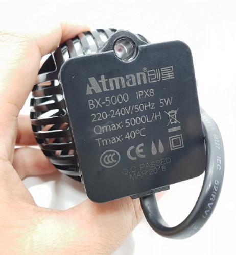 Atman Wave Maker Pump BX-5000 ปั๊มทำคลื่น เหมาะกับตู้ปลาขนาด 24-30 นิ้ว 4