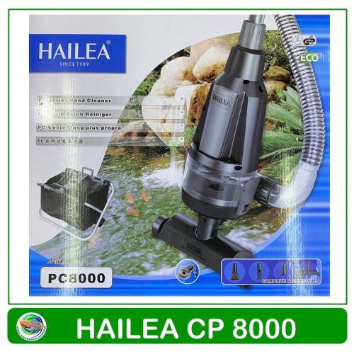HAILEA CP 8000 เครื่องดูดขี้ปลา ถ่ายน้ำปลา สำหรับบ่อปลา มีสวิตซ์ ปิด-เปิด พร้อมถังดั