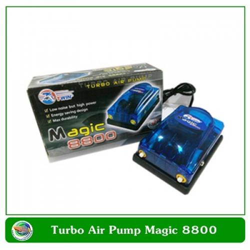 Magic 8800 ปั๊มออกซิเจน 2 ทาง
